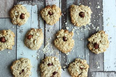 Cookies, avoine chocolat blanc 3