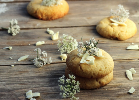 Cookies Chocolat blanc & Flowers 3