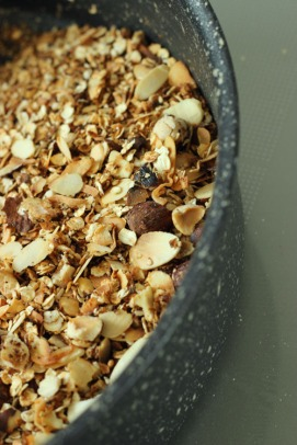 Home made muesli