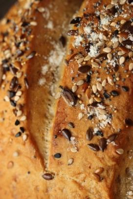 Pain semi complet mélange de graines