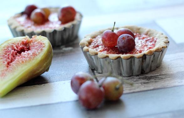 tartelette figue pomme 1