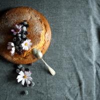 Gâteau au yaourt mûres & myrtilles