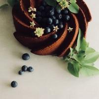 Bundt Cake chocolat & myrtille