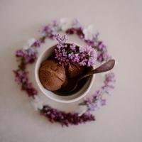 Glace au chocolat & piment