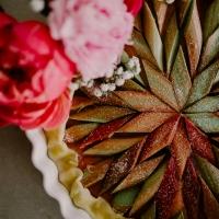 Tarte Rhubarbe & fraises